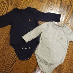 Baby Gap long sleeve onesies